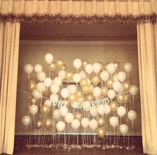 Balloon Decorations For Wedding Reception Ideas: Wedding Details {Balloons}