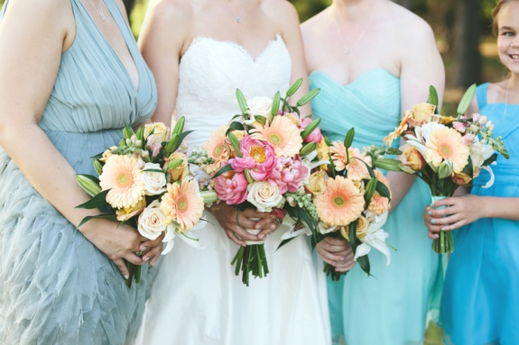 charleston spring wedding bouquets