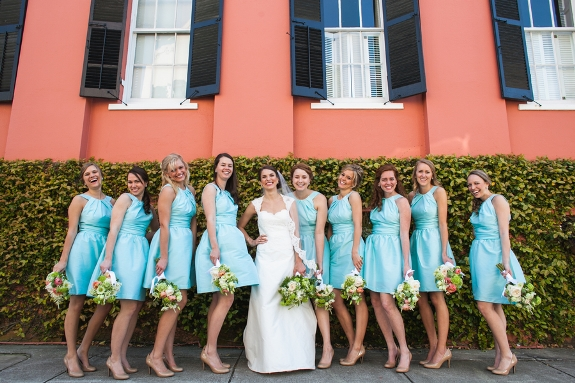 charleston wedding bridesmaids