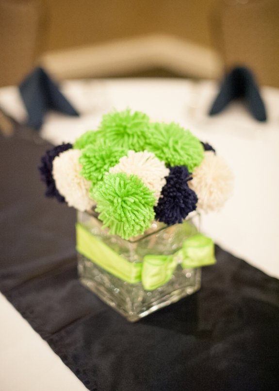 southern weddings, green white and navy wedding color palette