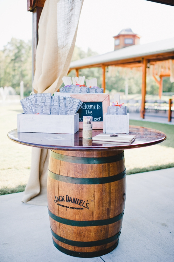 wine barrel weddings