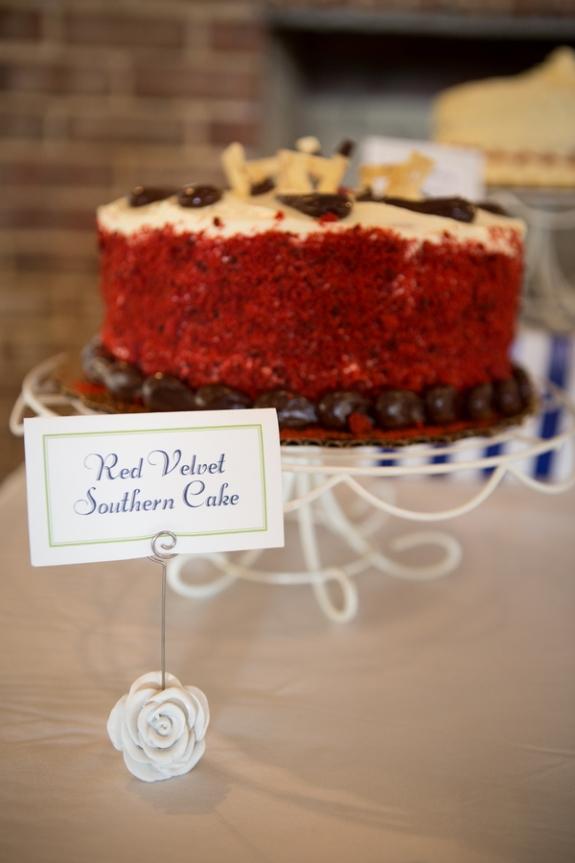 charleston wedding cake, red velvet