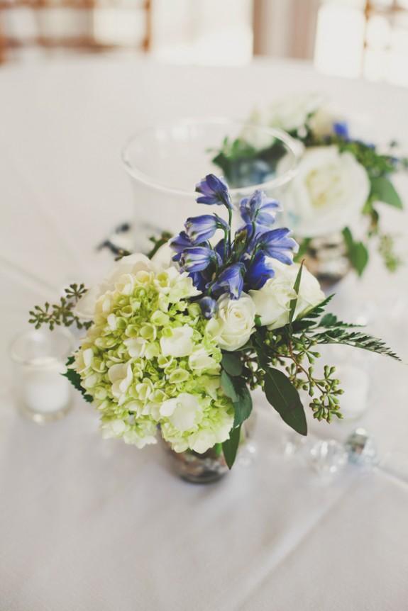 blue green wedding