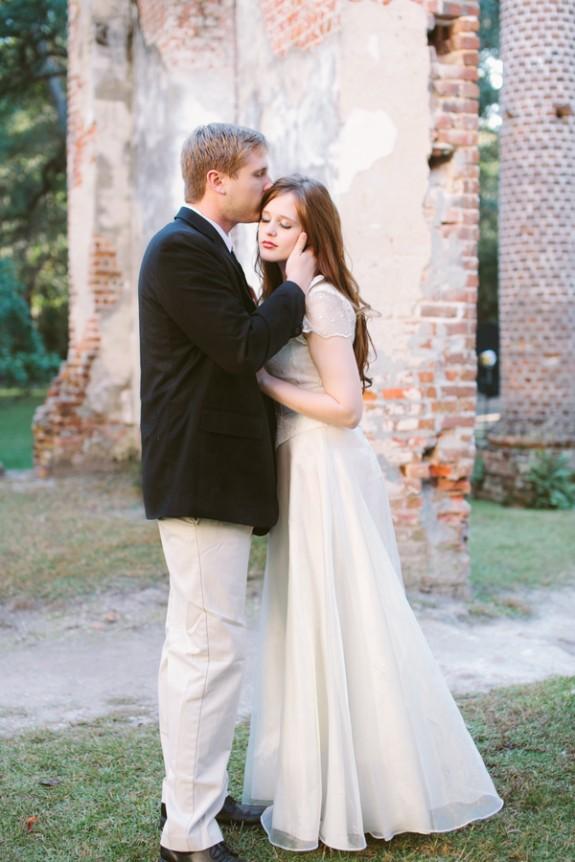old sheldon church ruins wedding