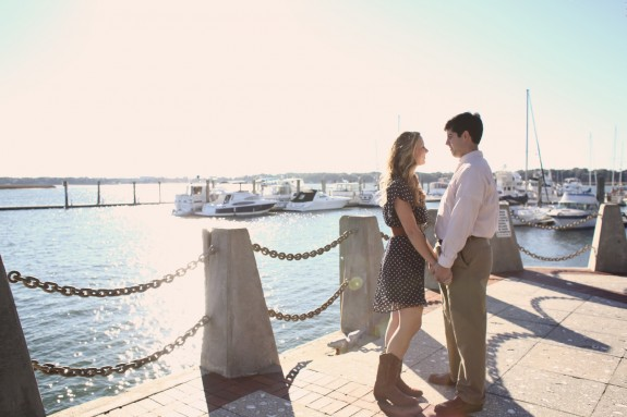 beaufort wedding engagement