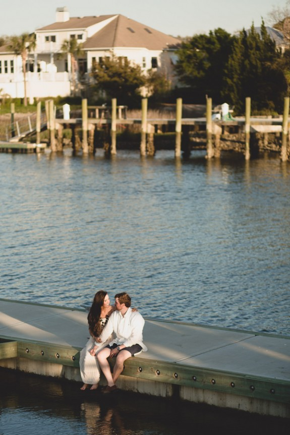 Downtown Charleston Wedding Engagement by Hannah Woodard