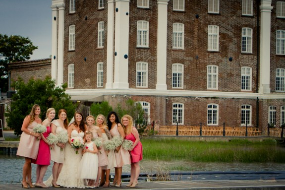 historic rice mill building weddings