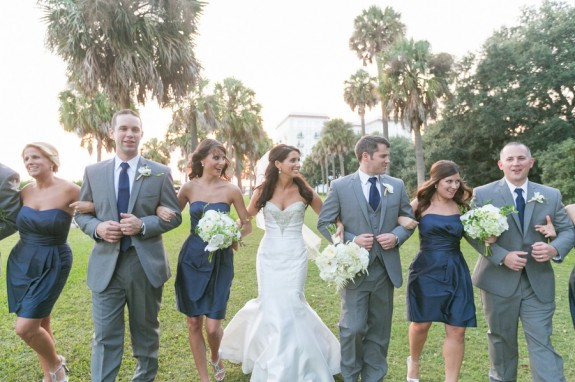 Navy Wedding at the Rice Mill Building