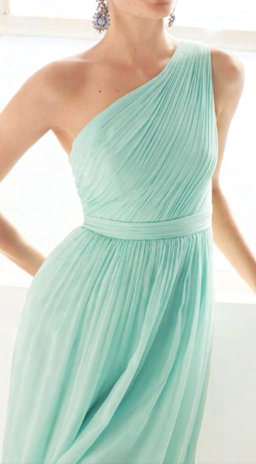Mint Bridesmaids Dress