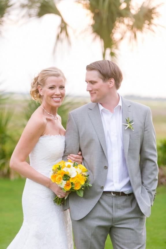 Fripp Island Wedding at Ocean Creek Golf Course