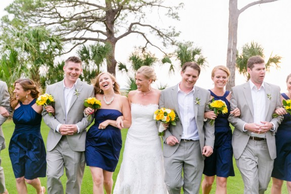 Fripp Island Wedding at Ocean Creek Golf Course