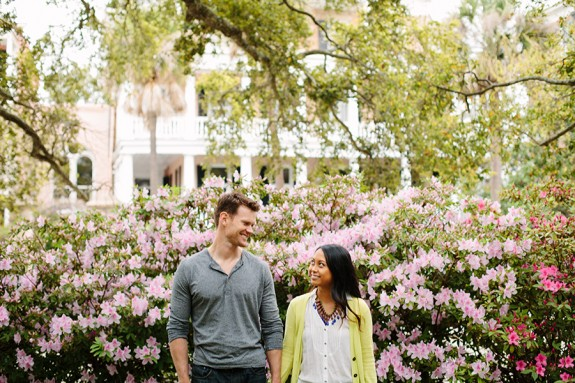Charleston Wedding Engagement by Wild Cotton Photography