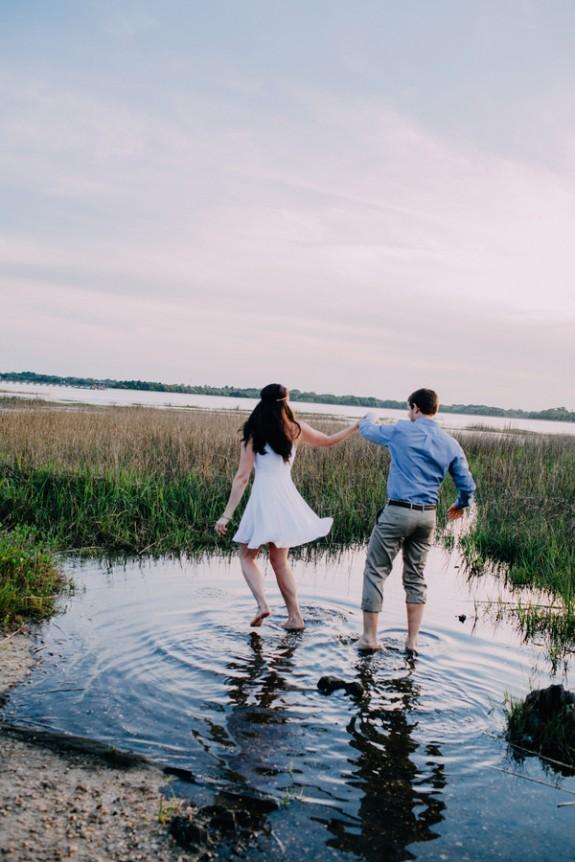 Charleston Wedding Engagement by Sara Bee Photography