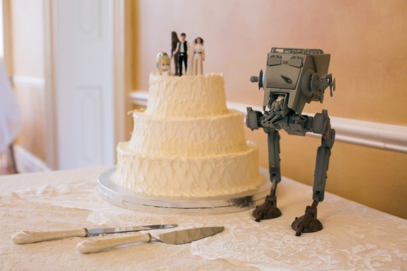 Star Wars Themed Wedding by Jeanne Mitchum Photography