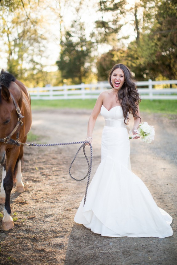 Rustic Southern Wedding Portait by MelissaJoy Photography