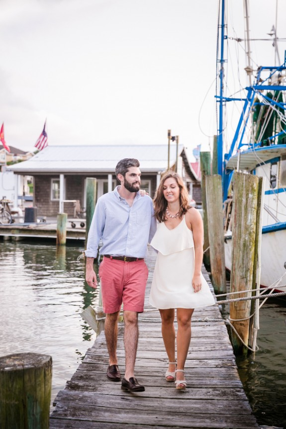 Shem Creek Wedding Engagement by Dana Cubbage Weddings Photography
