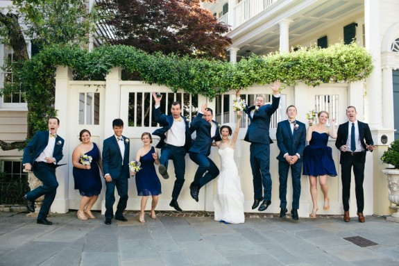 Navy South Carolina Aquarium Wedding by Fox Events