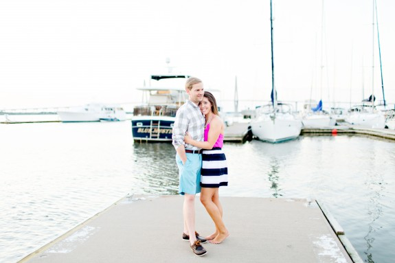 Nautical Charleston Wedding Enagagement by Kelly Dillon Photography
