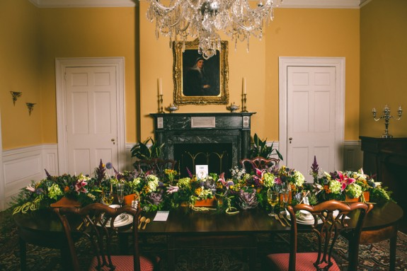 Thomas Bennett House wedding inspiration