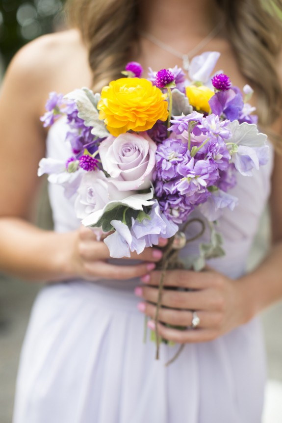 Pale Purple Wedding