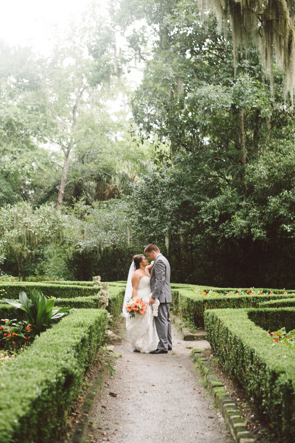 Magnolia Plantation wedding in Charleston, SC via Whimsey Photography