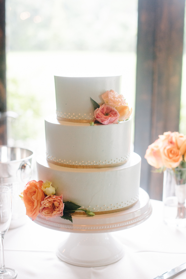 Charleston Wedding Cake by D'lish