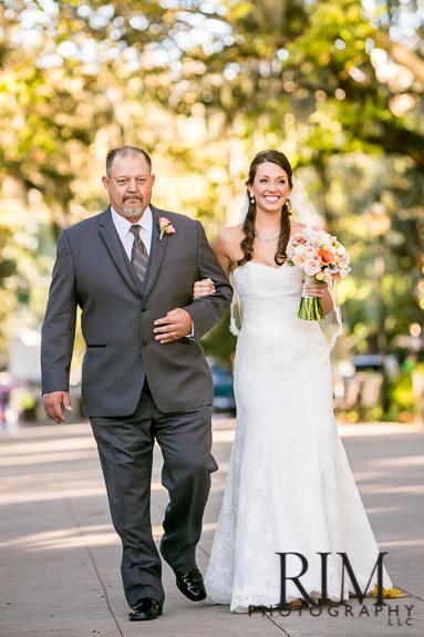Forsyth Park Wedding Ceremony in Savannah, GA
