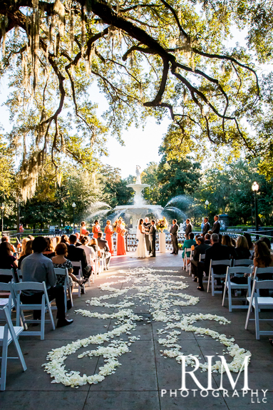 Forsyth Park Ceremony And The Westin Savannah Wedding By Avila Dawn Events A Lowcountry