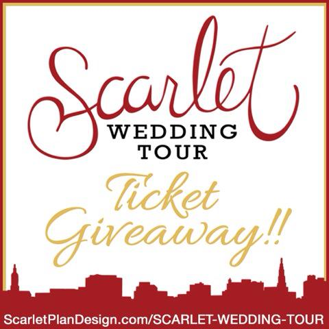 Charleston Wedding Event - Scarlet Wedding Tour