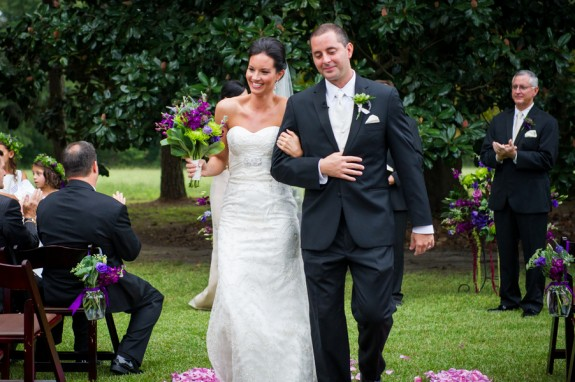 Purple & Green Orange Hill Plantation Wedding From Riverland Studios
