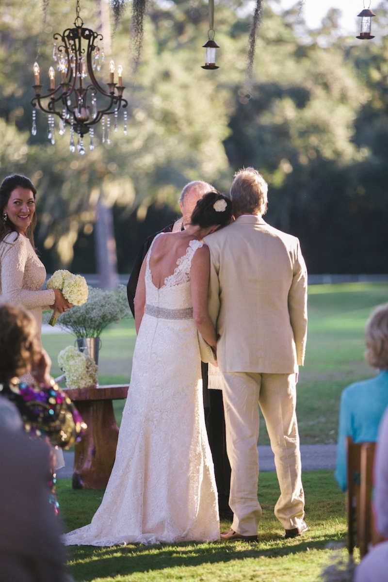 Myrtle Beach wedding at Caledonia Golf Course