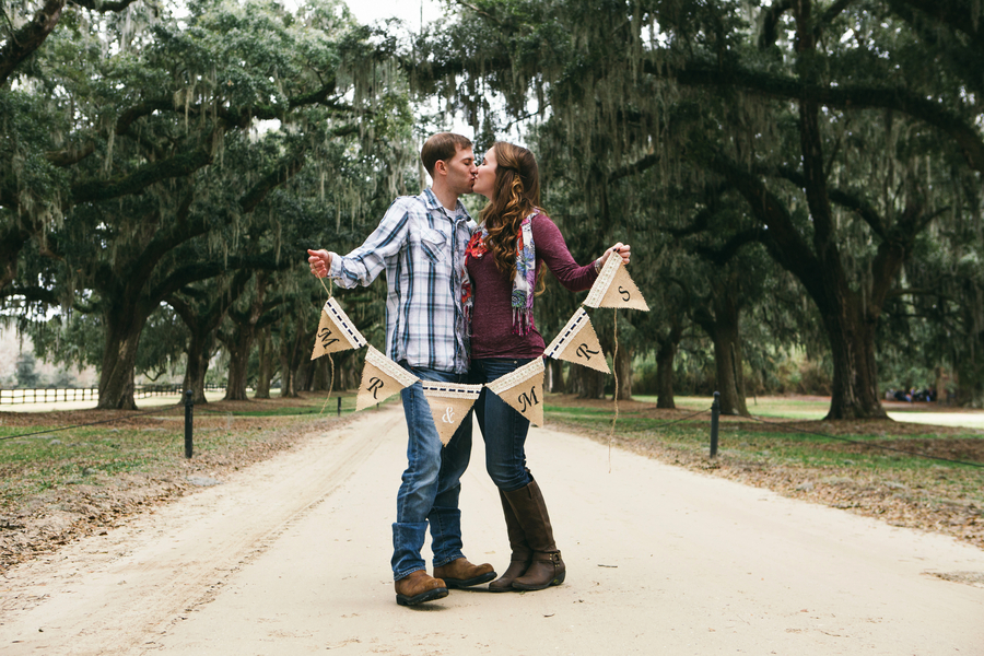 Boone Hall Plantation Engagement