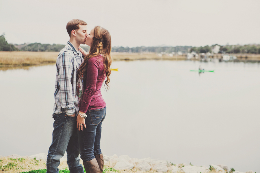 Boone Hall Plantation Engagement by Jeanne Mitchum Photography