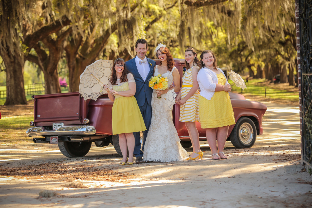 Ashleigh & Thomas's Boone Hall Plantation Wedding