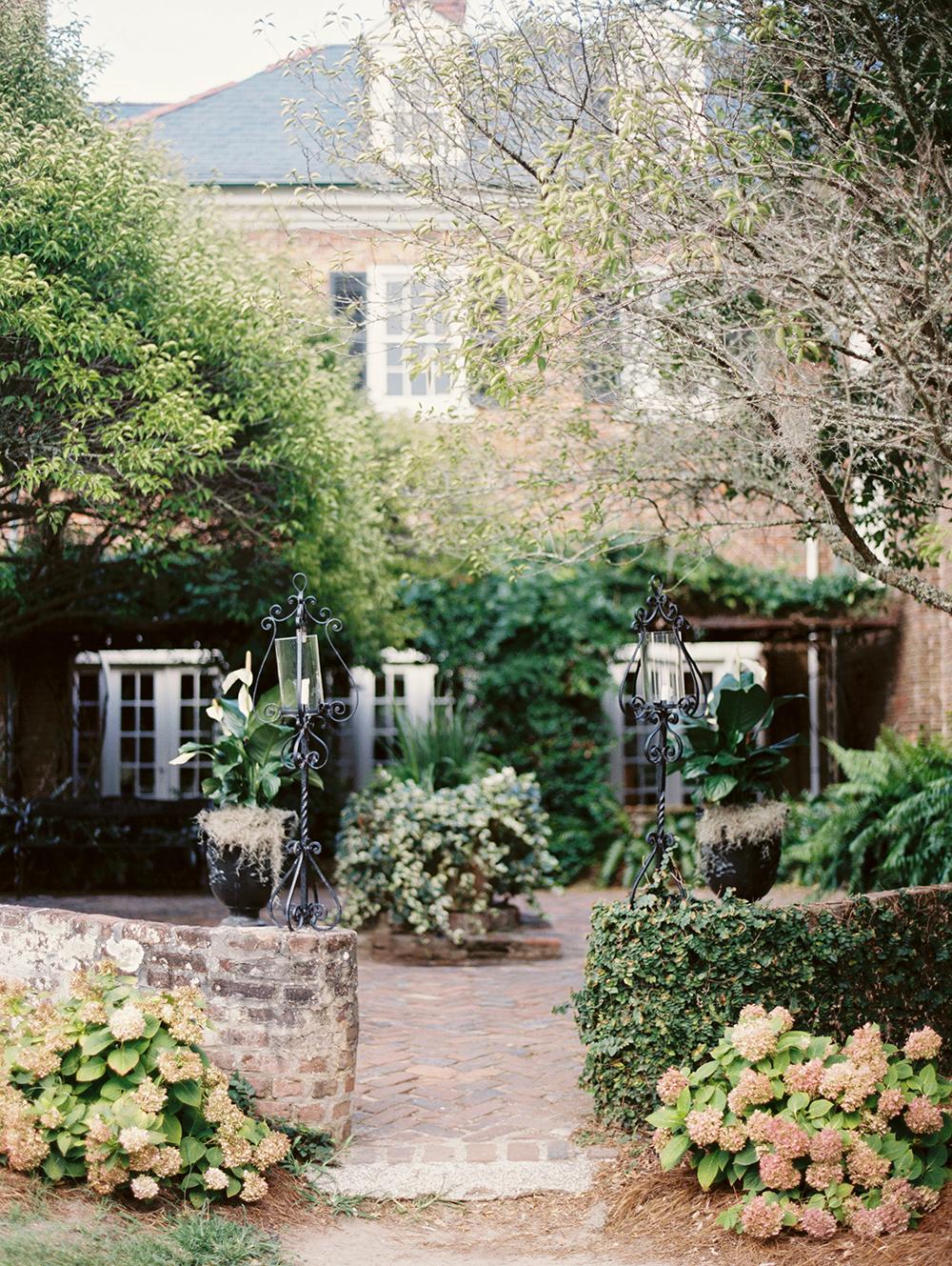 Boone Hall Plantation 2013: Cranberry, Peach & Gold Boone Hall Wedding Inspiration By