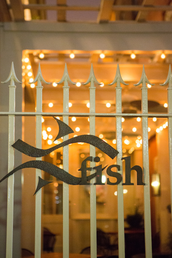 Charleston Wedding at Fish Restaurant