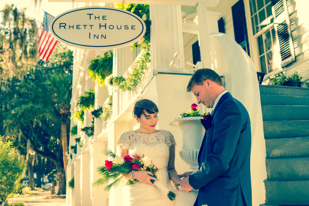 Rhett House Inn Wedding