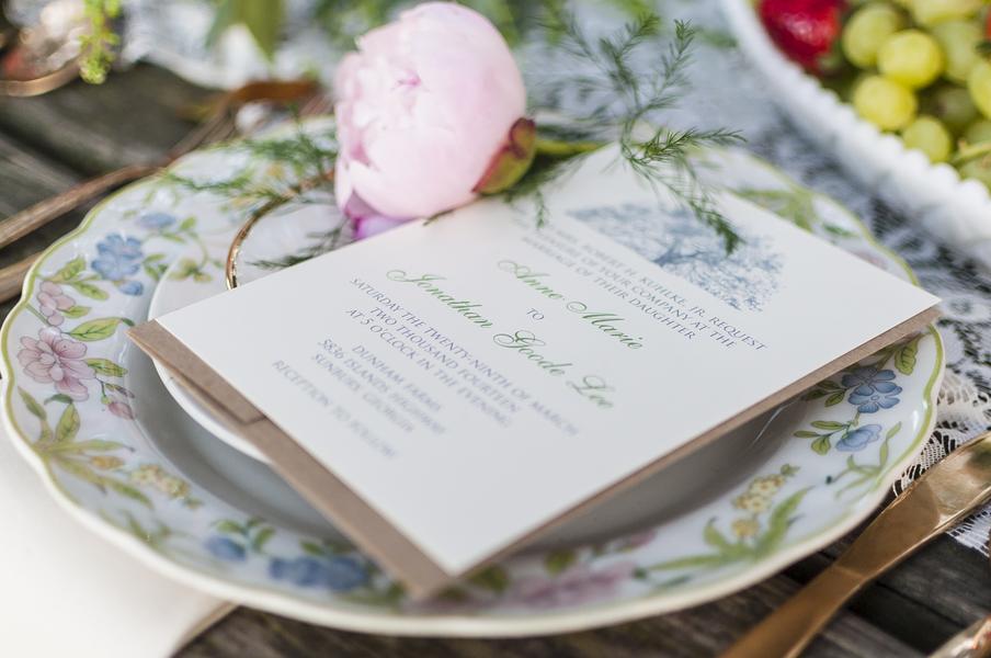Colorful Savannah Wedding Inspiration