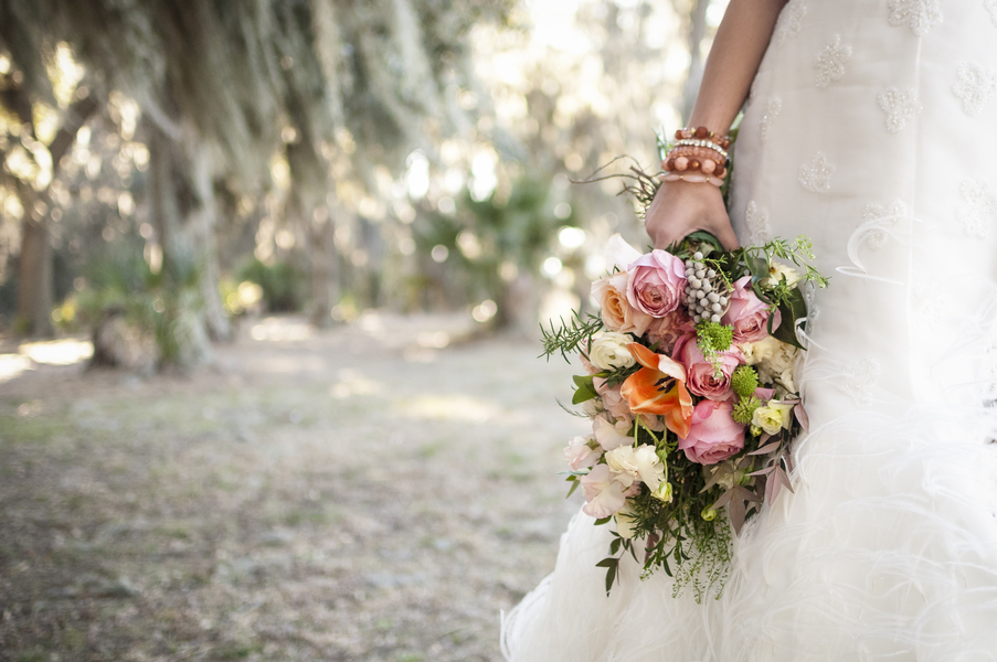 Colorful Savannah Wedding bouquet