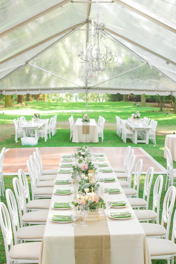 Charleston wedding reception