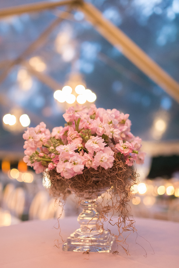 Romantic wedding details
