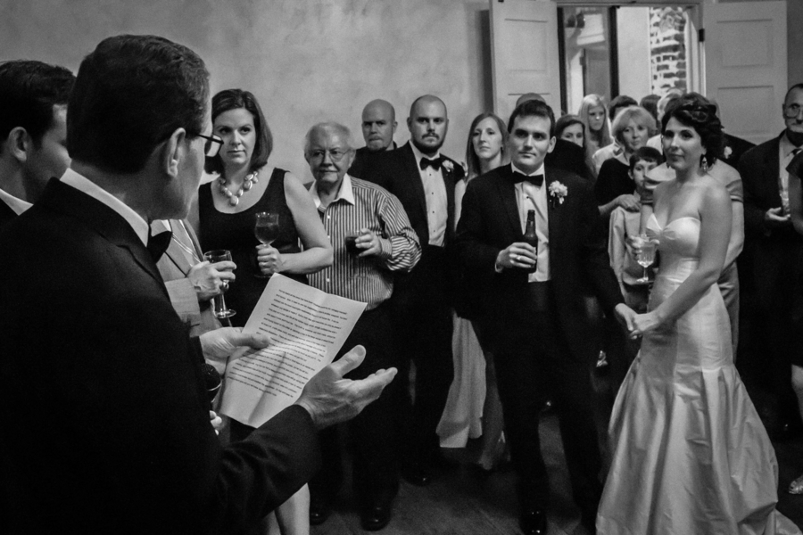 Charleston wedding toast