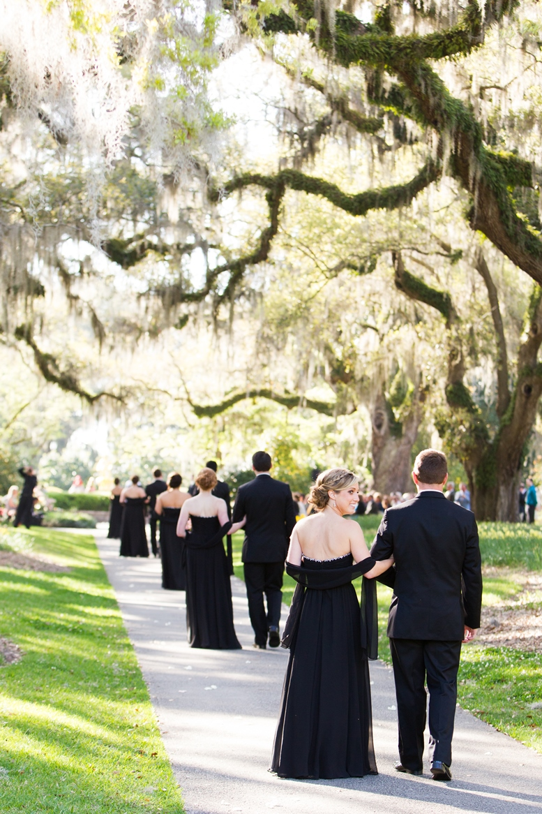 Ceremony at Brookgreen Gardens