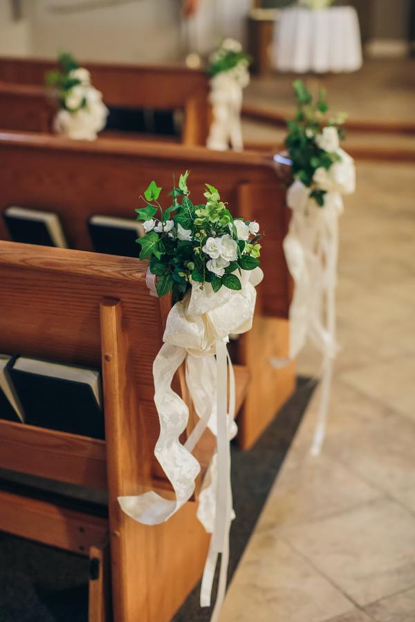 Charleston wedding at St. Benedict's Catholic Church