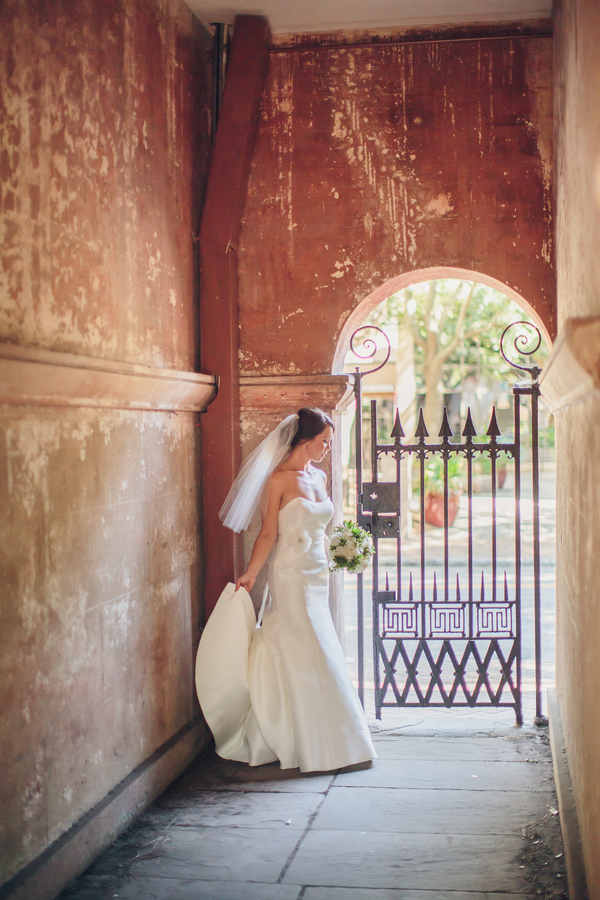 Charleston wedding at the College of Charleston
