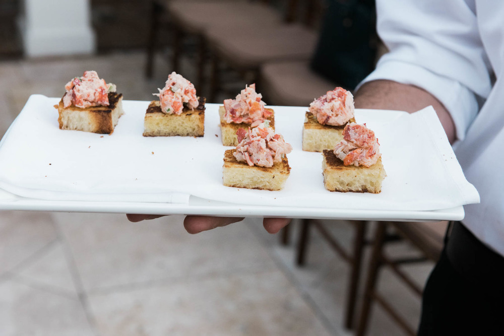 Lobster Hors d'oeuvres at Cannon Green