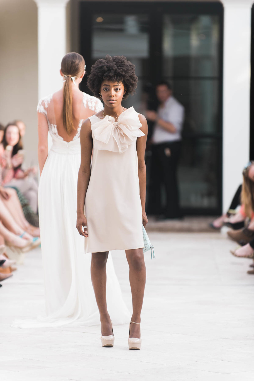 Dolly Pearl Dress at Charleston Bridal Fashion Event