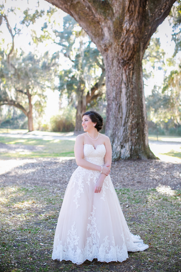 Allure Romance gown from Jean's Bridal