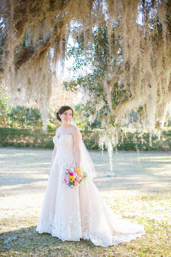 Boone Hall Plantation Bridal Portraits by Dana Cubbage Photography