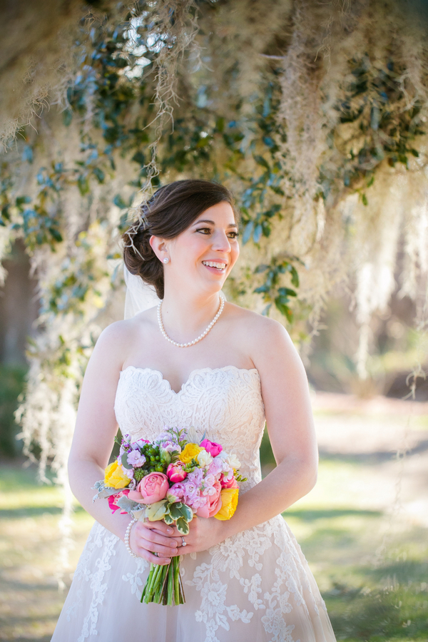 Charleston Bridal Portraits at Boone Hall Plantation by Dana Cubbage Photography